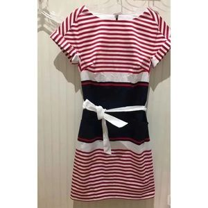 NWT Tommy Hilfiger Color Block Dress w/ Stripes